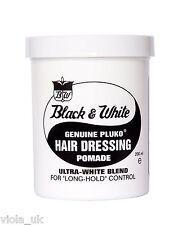 Black and White Hair Wax Genuine Pluko Hair Dressing Pomade Hair Styles 200ml