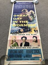 Great Day In The Morning (1956) Original US Insert Cinema Poster