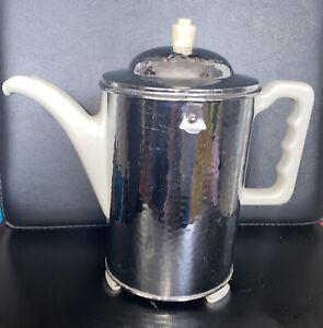 Gr. Fürstenberg Kaffeekanne Thermisol Thermoskanne  Vintage shabby SUS