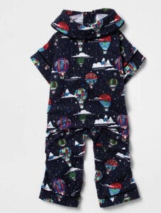 New Hot Air Balloon Pet Pajamas Cat Dog Flannel S Small Up to 25lbs  Wondershop