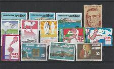 Niederländisch Antillen Jahrgang 1976 postfrisch i. d. Hauptnummern kompl 1/3069