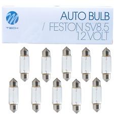 60 Stück Soffitte Glühbirne  Glühlampe 12V 10W 11 x 41 mm  S50140