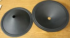2 RARE NEW SMOOTH CONE JENSEN P12Q P12R SPEAKER CONES !!  12 SETS AVAILABLE !!