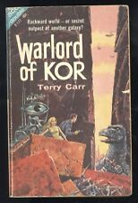 Ace Double F-177 Terry Carr Warlord Of Kor RM WIlliams Star Lords 1962 PBO GD+