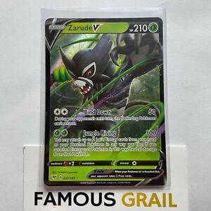 Zarude V - 022/185 - Rare Holo Card - Pokemon Vivid Voltage MINT