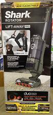 Shark Rotator (ZU782) LiftAway Pro DuoClean Zero-M Upright Vacuum Pet Sage Green