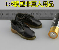 Free Shipping 1/6 MMS9005 British Metropolitan Police Service MPS shoes Model