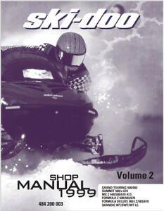 Ski Doo Vehicle Repair Manuals Literature For Sale Ebay