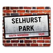 SELHURST PARK London Street Sign MOUSEMAT crystal palace football mouse mat pad