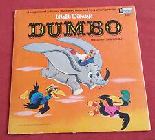 DUMBO LP US DISNEY  DISQUE + LIVRET COULEURS