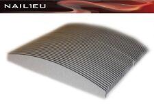 50x PROFI Feilen HALBMOND 150/150 zebra 30/180mm Trapez Nagelfeilen Trapezfeilen