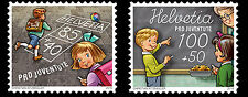 Zwitserland / Suisse - Postfris/MNH - Complete set Pro Juventute, Schooldays2016