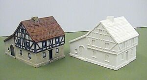6mm German 18th Century Half Timbered Houses (Code 20/LE1)