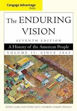Cengage Advantage Books: The Enduring Vision, Volume II-ExLibrary