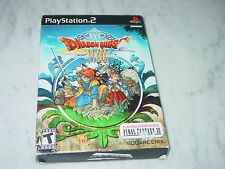 Dragon Quest VIII 8 PlayStation 2 PS2 Journey of the Cursed King Complete w/Demo
