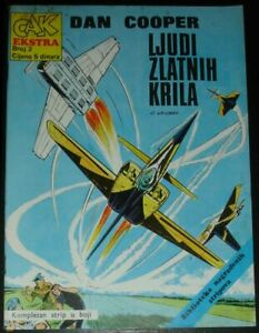 Dan Cooper / Cak ekstra 3 / Yugoslavia 1973 / Albert Weinberg