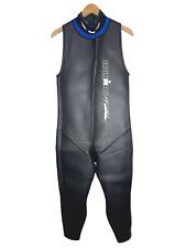 "Ironman Mens Triathlon Wetsuit Size Large Sleeveless Fits: 5'8""-6'0"", 180-200"