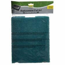 "Tetra Pond Flat Box Filter Replacement Foam 2 Pack - (11.5""L x 9""W Each)"
