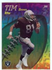 1998 Topps Mystery Finest REFRACTOR #M19 Tim Brown Oakland Raiders Football HOF