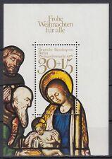 Germany Berlin 1978 ** Bl.7 Weihnachten Christmas Anbetung der Könige Adoration