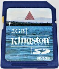 Kingston 2GB SD Digital Memory Card