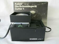 Kaiser Film & Slide Cutter, Dia-Schneidegerät Diacut 1, Slide Viewer (working)