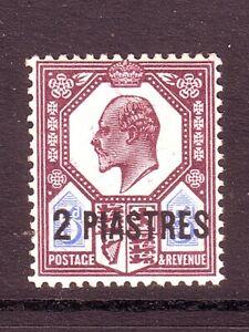 BRITISH LEVANT 1905 2Pi SG 14ab U/M