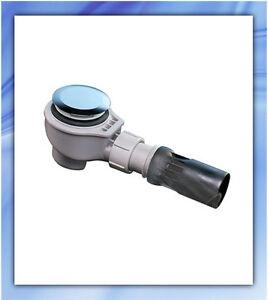 Geberit uniflex siphon pour receveur de douche Diamètre 90mm - chromé