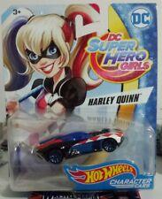 2017 HOT WHEELS DC SUPER HERO GIRLS CHARACTER CAR OF HARLEY QUINN