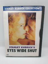 Eyes Wide Shut (Dvd, 2001, Stanley Kubrick Collection) Nicole kidman Tom Cruise