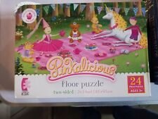 Pinkalicious Two-Sided Floor Puzzle 2 x 3 feet Ages 3+ Ceaco Kids 1706  LN