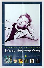 Van Morrison A Period of Transition 1977 Album Promo Vintage Poster 22 x 35