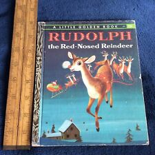 Rudolph the Red - Nosed Reindeer ~ A Little Golden Book ~ 1976 ~ Barbara Hazan