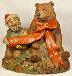 CAIRN CHRISTMAS 1997-R~Clark/Wolfe~Item #6335~Ed #74~Both Signed~w/COA & Story