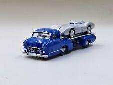 NOREV  1:64  Mercedes  Benz  W196  1954 RENNTRANSPORTER  models DIECAST