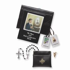 Brand New Confirmation/Communion 5 pc. Boys First Communion Gift Set