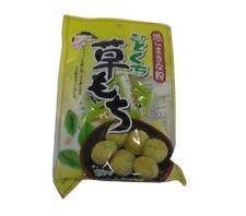 Japanese Dessert: Kusa Mochi Daifuku Sweet Red Bean Rice Cake Kinako Sesame