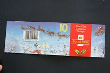 Gb 1993 First Class Christmas booklet Lx4