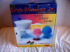 Hawaiian Ice Sno Maker Jr Sno Cone Maker