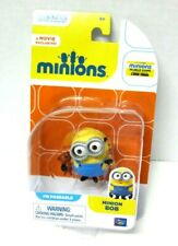 Despicable Me Movie Minion Bob Holding Teddy Bear Action Figure Toy 20211