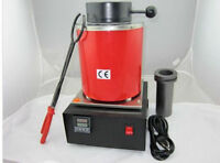 110v Automatic Jewelry Melting Furnace,Melt Scrap Silver&Gold Pour Bar- fedex