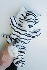 White Tiger Hand Puppet