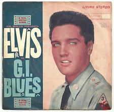 Elvis Presley - RARE G I Blues (Living Stereo!?) EP from Thailand.