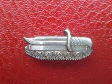 "Israel Vintage IDF Sickle Warrior Pin - ""mechanized Infantry""."