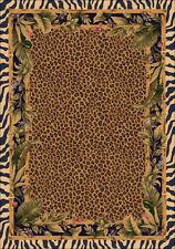 "5x8 Milliken Jungle Safari Skins Tropical Zebra Area Rug - Approx 5'4""x7'8"""