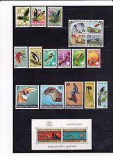 1973 -75 Papua New Guinea mixed lot; Sg Sb5, Sc# 419-422, 424a - Mnh