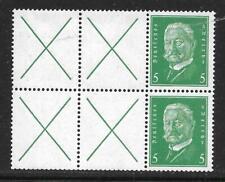 Deutsches Reich Auswahl 1  Zusammendrucke postfrisch aus Mi  W 27.1 - W 28