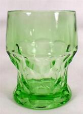 Cambridge Georgian Tumbler Light Green Emerald Elegant Glass 6 oz Vintage #319