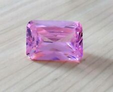 AAAAA Natural Pink Sapphire Emerald Faceted Cut VVS Loose Gemstone U Pick Size