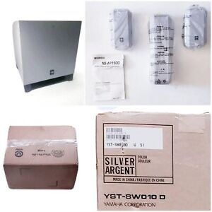 Yamaha Surround Sound Speaker System YST SW 010 And NS AP 1500 New Open Box